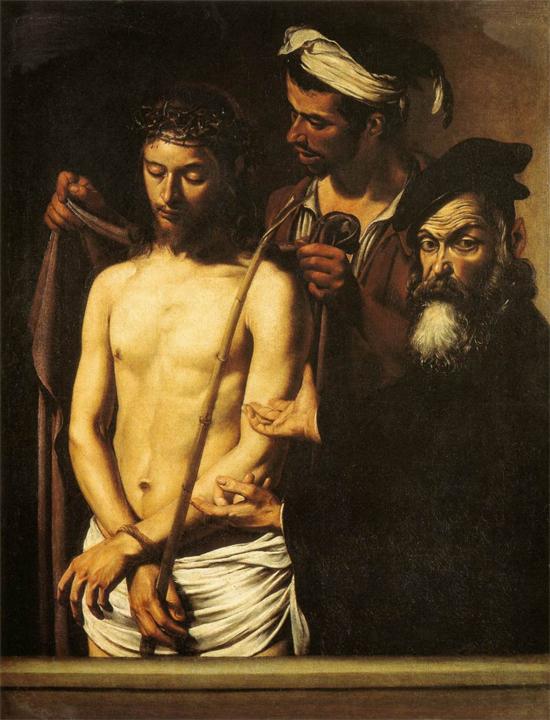"1606 Меризи да Караваджо ""Человек существующий."""