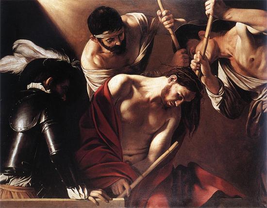 """1597 Меризи да Караваджо """"Коронация терновым венком."""""""