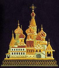 Панно (Торжокское золотое шитье)