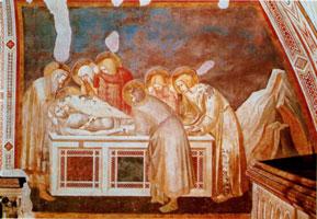 Положение во гроб (П. Лоренцетти, проторенессанс)