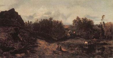 Вид в окрестностях Гранвиля (Т. Руссо)