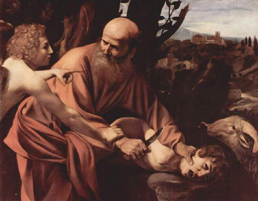 Жертвоприношение Авраама (Меризи да Караваджо)