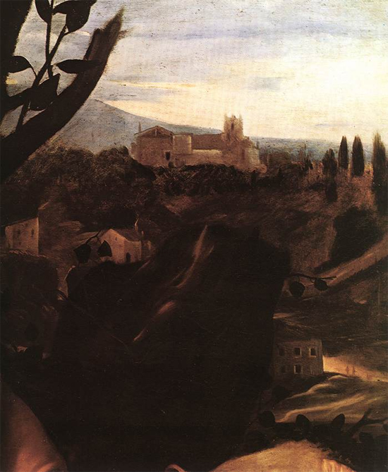 """1601 Меризи да Караваджо """"Жертвоприношение Исаака (фрагмент)"""""""