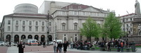 Площадь делла Скала в Милане