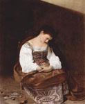 Мария Магдалина. (Меризи да Караваджо)