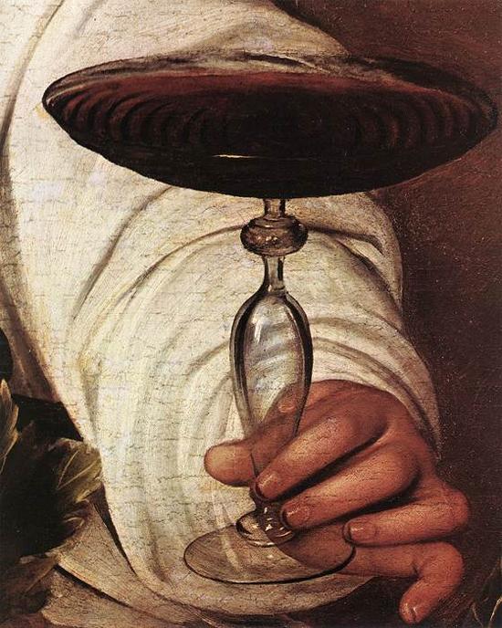 """1596 Меризи да Караваджо """"Вакх (фрагмент)."""""""