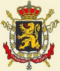 Герб Бельгии
