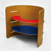 Дизайн детской мебели (К.С. Ведель, 1951 г.)