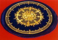 Коврик (Торжокское золотое шитье)