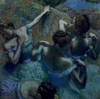 Голубые танцовщицы (Э. Дэга)