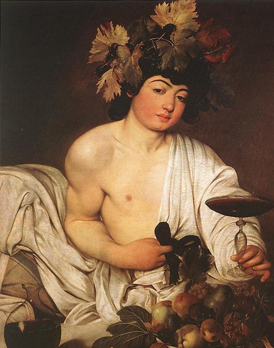 """1596 Меризи да Караваджо """"Вакх."""""""