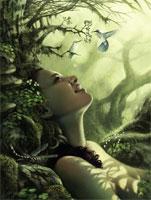 В волшебном лесу (компьютерная графика)