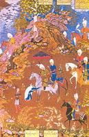 Султан Санджар и старуха (С. Мухаммед)