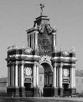 Д. В. Ухтомский. Триумфальные Красные ворота в Москве