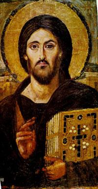 Христос Пантократор (энкаустика)