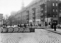 Баррикады на улице Берлина (Ноябрьская революция 1918 г.)