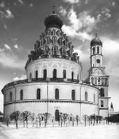Ротонда Воскресенского храма Ново-Иерусалимского монастыря