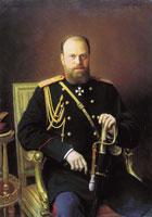 Портрет Александра III (И. Крамской)