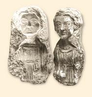 Две женские статуэтки (Бактрия)