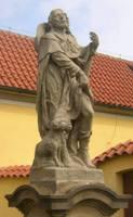Святой Рох с собакой (пригород Праги)