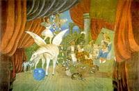 Клеевая живопись (декорация)