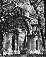 Фигурные ворота. Кон. 18 в., архитектор В. И. Баженов