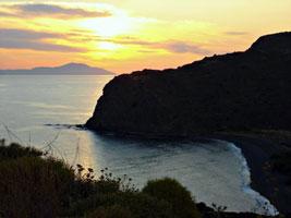 Закат на острове Хиос