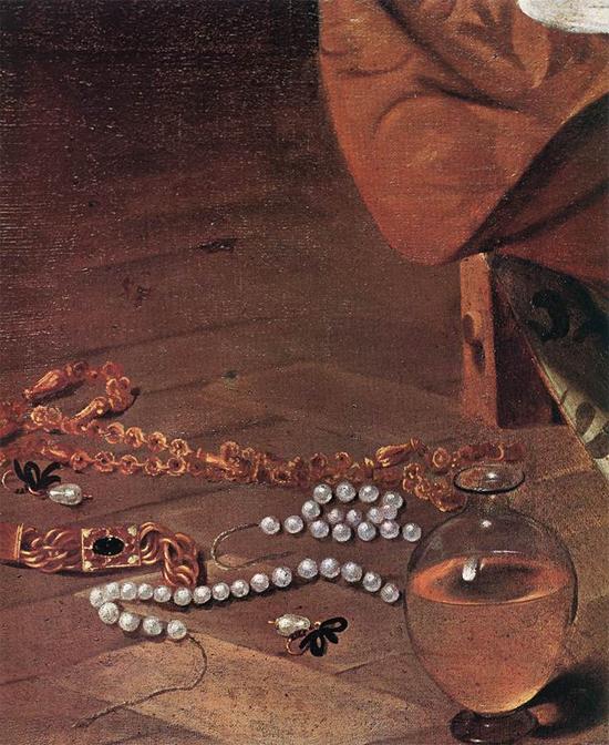 "1597 Меризи да Караваджо ""Магдалина (фрагмент)."""
