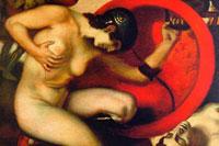 Раненая амазонка (Франц фон Штук)