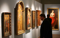 Выставка Алтарная живопись XVIII-XIX в.