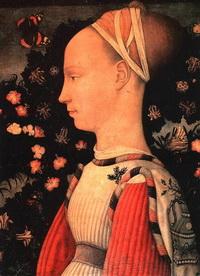 Портрет Джиневры д`Эсте (Пизанелло)