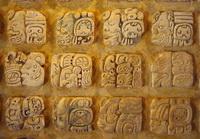 Иероглифы майя