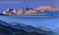 Картина Н.К. Рериха из цикла Гималаи