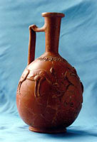 Краснолаковый сосуд (барботин)