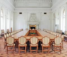 Парадная столовая Ливадийского дворца
