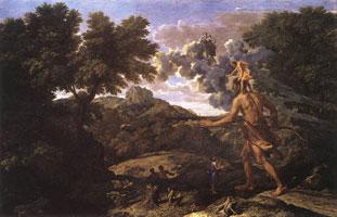 Пейзаж с Дианой и Орионом (Николя Пуссен)