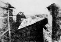 Вид из окна (первая фотография в мире, 1826 г.)