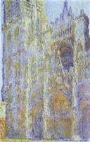 Клод Моне «Руанский собор». Первая картина