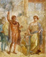 Свадьба Марса-Александра и Афродиты-Роксаны